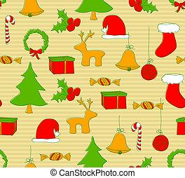 seamless, kerstmis