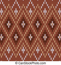 Seamless Knitwear Pattern