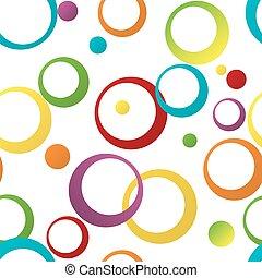 seamless, kolor, próbka