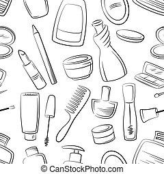 seamless, kosmetikker