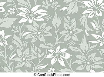 seamless, květ, tapeta
