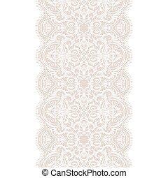 Seamless lace