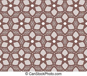 Seamless lace pattern.