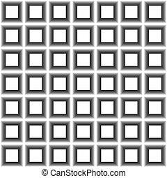 Seamless lattice. - The steel lattice forms a seamless...