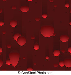 Seamless lava lamp background - Blobs of wax in lava lamp...