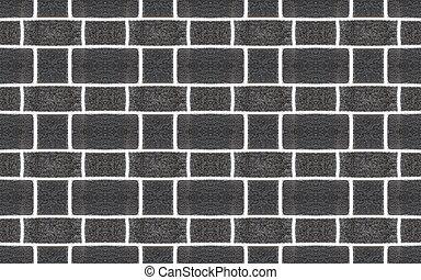 Seamless lava stone brick wall