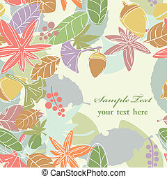 Seamless Leaf Background