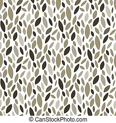 seamless leaf pattern and background vector illustration