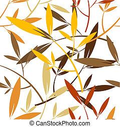 Seamless leaves