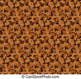 seamless leopard pattern brown vector background editable ilustration