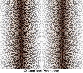 Seamless leopard pattern