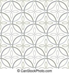 Seamless light pattern - Vector illustration of seamless...