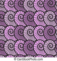 seamless lilac background with shel - seamless lilac...
