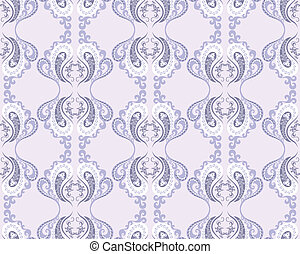seamless lilac pattern