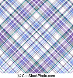 Seamless  lilas-blue diagonal pattern