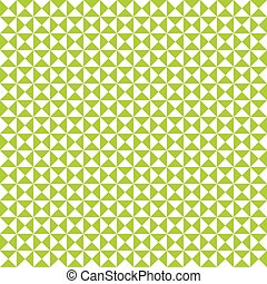 Seamless lime green geometric triangle pattern background