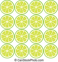 seamless lime pattern