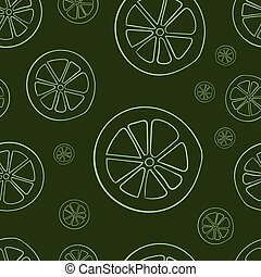 Seamless limes contours