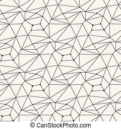 Seamless line pattern tile background abstract geometric