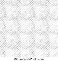 Seamless linear pattern with thin poly-lines