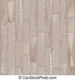 Seamless linear wooden planks pattern