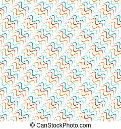 Seamless lines with curve vector pattern background