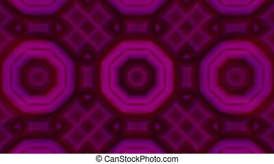 Seamless loop animation kaleidoscope