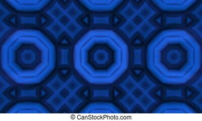 Seamless loop animation kaleidoscope