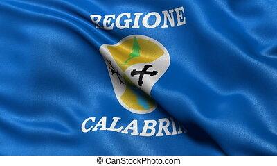Seamless loop of Calabria flag - Seamless loop of Calabria, ...