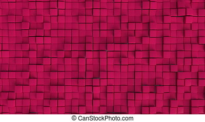 Seamless looping cube wall. Dynamic background suitable for...