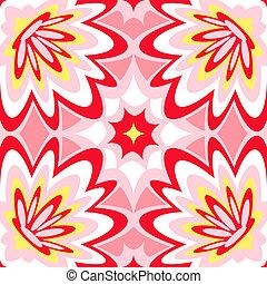 Seamless lounge pattern - Seamless burst flower power...