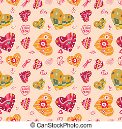 seamless love pattern