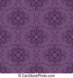 Seamless luxury floral pattern