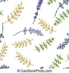 seamless, mönster, lavendel