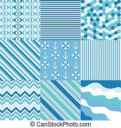 seamless, mönster, tyg, struktur