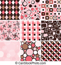seamless, mønster