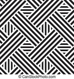 seamless, mønster, hos, kvadraterer, vektor, illustration