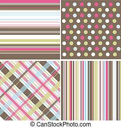 seamless, mønstre, fabric, tekstur