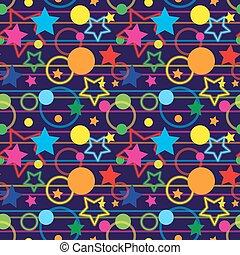 Seamless Magic Pattern