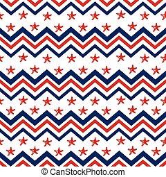 Seamless, marine pattern