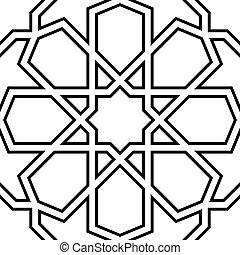seamless, marocchino, mosaico