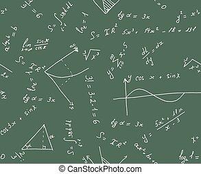 Seamless math background