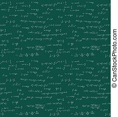 Seamless mathematics handwriting
