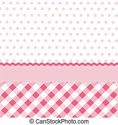 seamless, menina bebê, padrão, wallpap