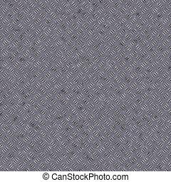 Seamless metal diamond texture background