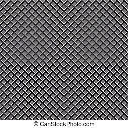 seamless metal grid pattern