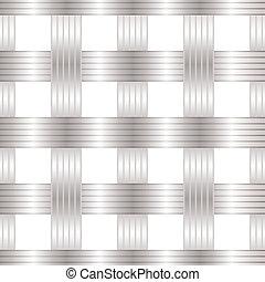 Seamless metal lattice