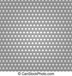 seamless, metallo, superficie