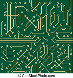 Seamless microcircuit