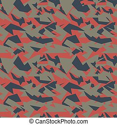 Seamless military camouflage texture.